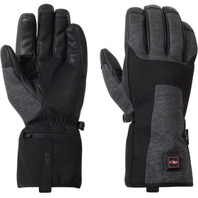 Outdoor Research Oberland Heated Gloves black/charcoal